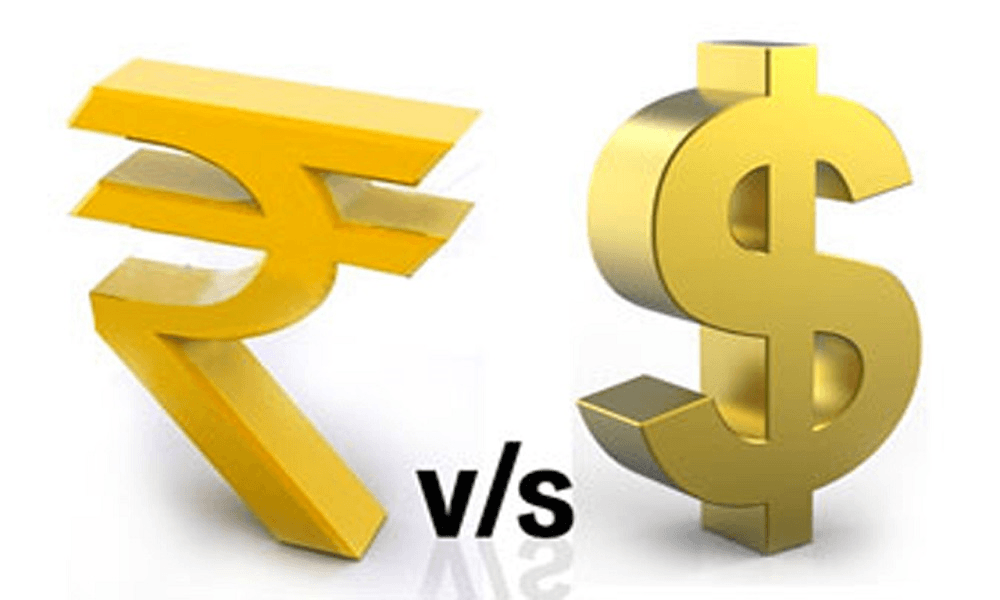 dollar vs rupees