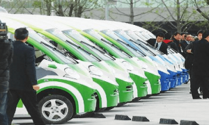 China green car