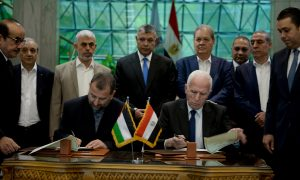 EGYPT-CAIRO-PALESTINIAN RECONCILIATION-AGREEMENT
