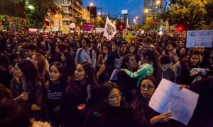 Chile, Protest, Gender based Violence, Santiago