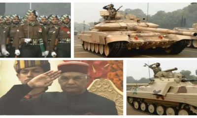 President Ram Nath Kovind take salute on 69th republic day