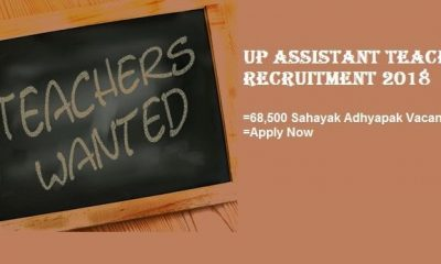 UP Assistant Teacher Recruitment