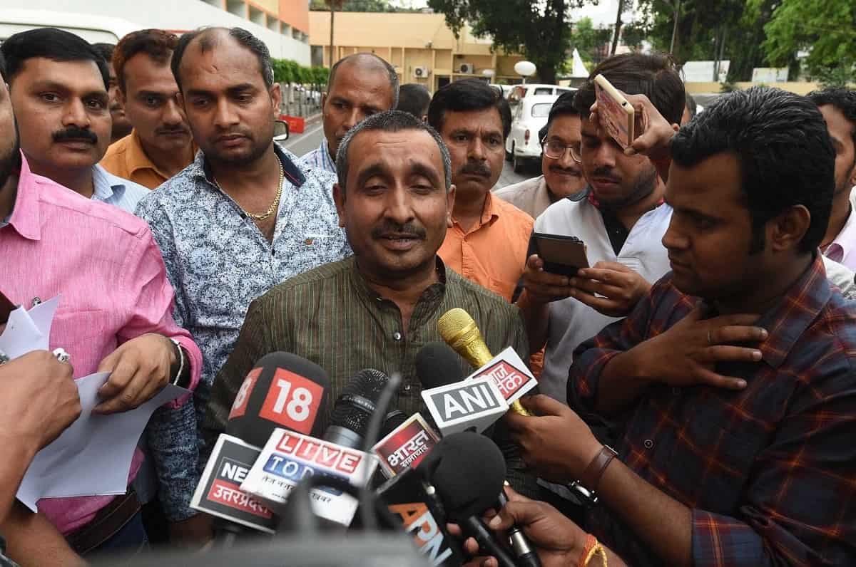 BJP legislator from Unnao Kuldeep Singh Sengar