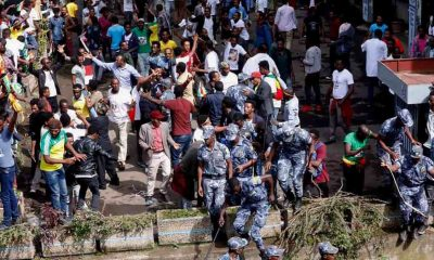 Grenade blast at Ethiopian PM rally