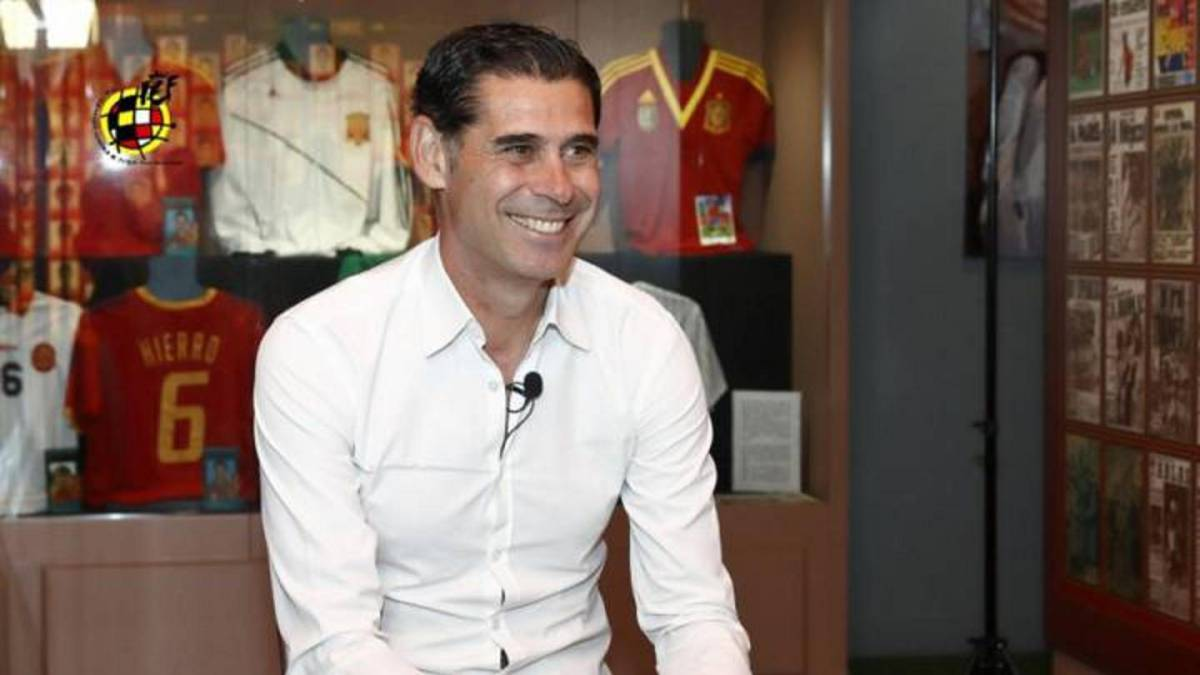 Spain Chief Coach Fernando Hierro