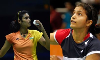 Indian badminton player