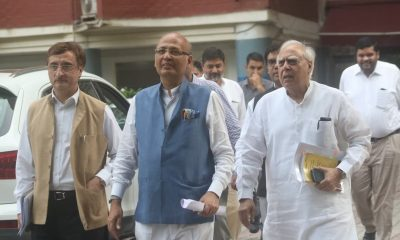 Congress delegation meet Election Commission