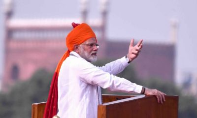 PM Modi Red Fort