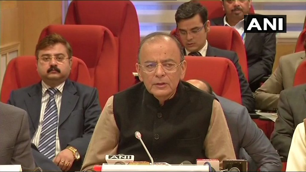 FM Arun Jaitley after GST meet: