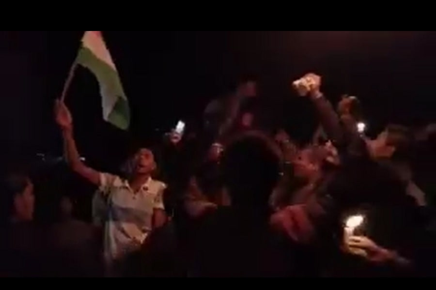 Bihar Candle March on Terror Attack