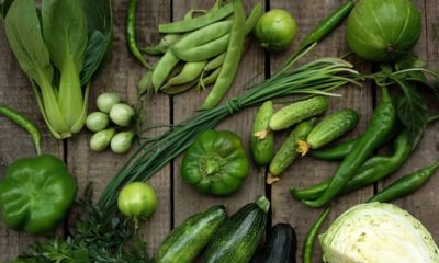 Green vegetables-