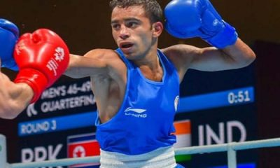 Indian Boxer Amit Panghal