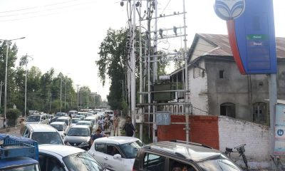 Kashmir Valley Fuel rush in City