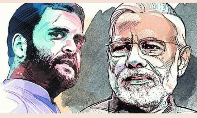 Rahul Gandhi and Modi