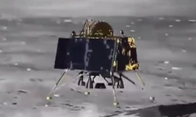 Chandrayaan 2 landing in moon orbit