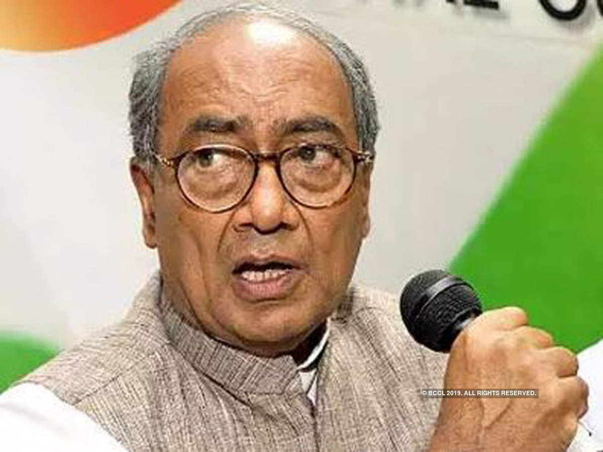 Congress Senior leader and former Madhya Pradesh Chief Minister Digvijay Singh