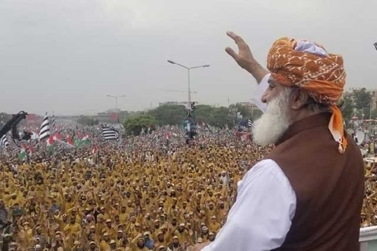 Maulana Fazal ur Rehman Azadi March