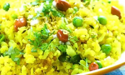 Poha indian Dish