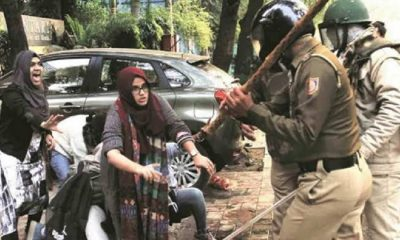 Police and Students Jamia
