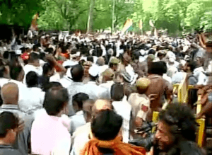 congress protest march-2