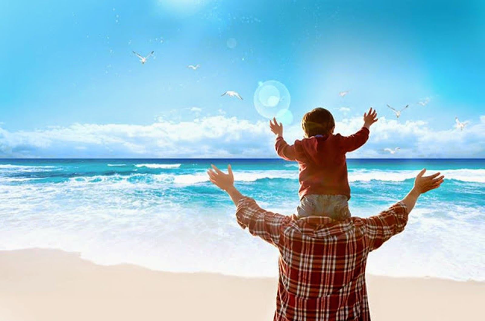 happy fathers day 2014 beautiful HD wallpaper (3)