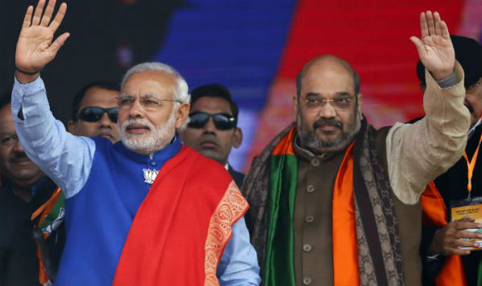 modi and amit shah