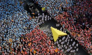 SPAIN-BARCELONA-DEMENSTRATION-CATALONIA-INDEPENDENCE