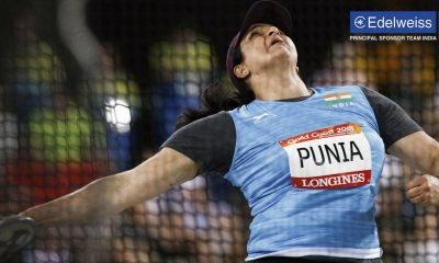 Athlete Seema Punia