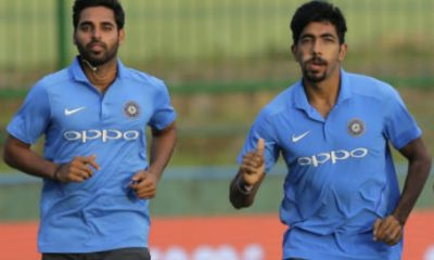 Bumrah and Bhuvneshwar