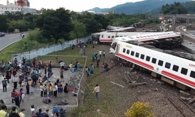 Taiwan-Train-Derails