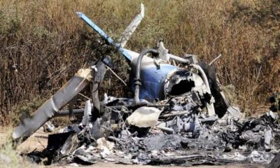 helicopter crashes-