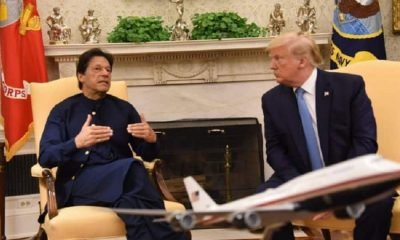 Pak PM Imran Khan with Trump