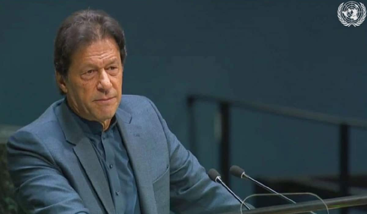 Imran Khan at UNGA