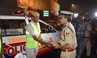 Delhi Police Commissioner on Diwali Duty