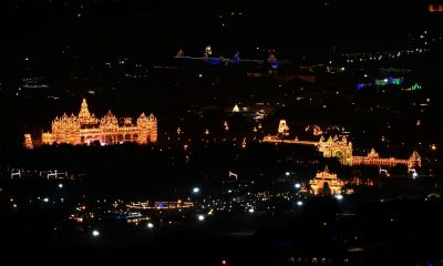 Illuminated Mysore Palace