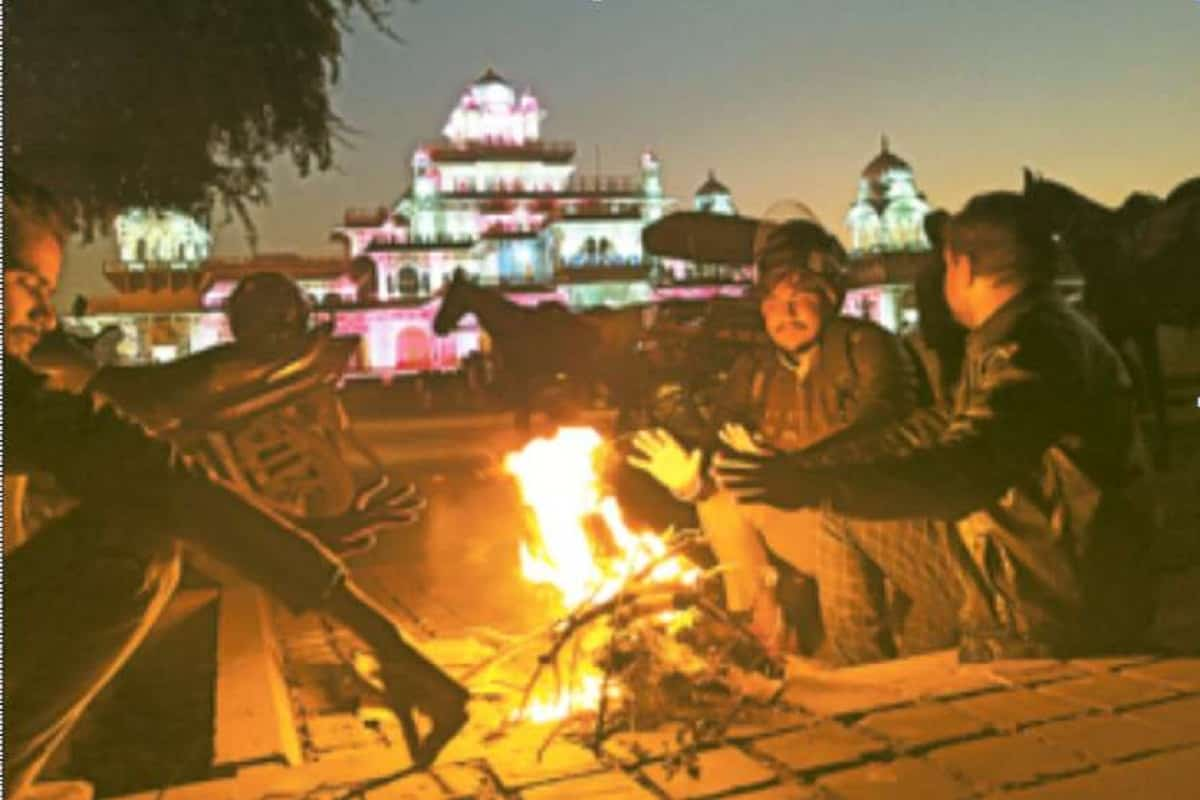 Cold In Rajasthan