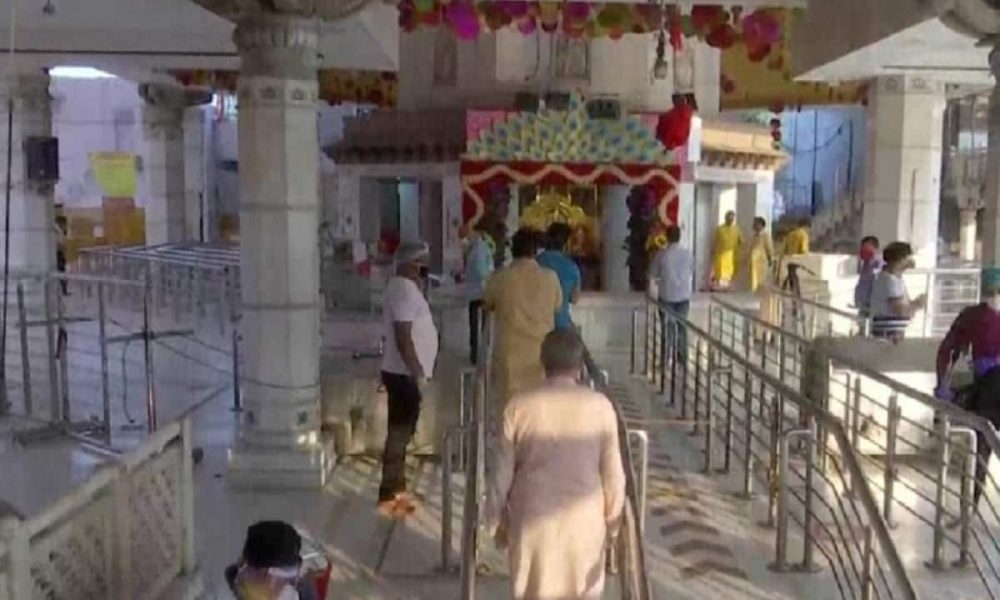 Social Distancing in Temple