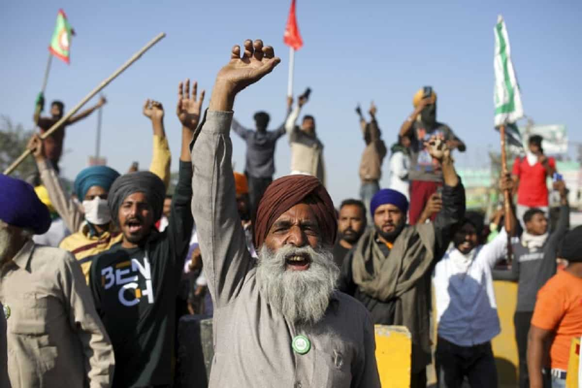 Farmers on Protest