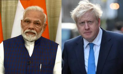 Modi and Boris Johnson