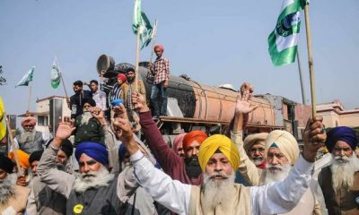 Rail Roko Protest Farmers